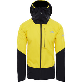 The North Face Summit L4 Windstopper Hybrid Hoodie Herr canary yellow/tnf black